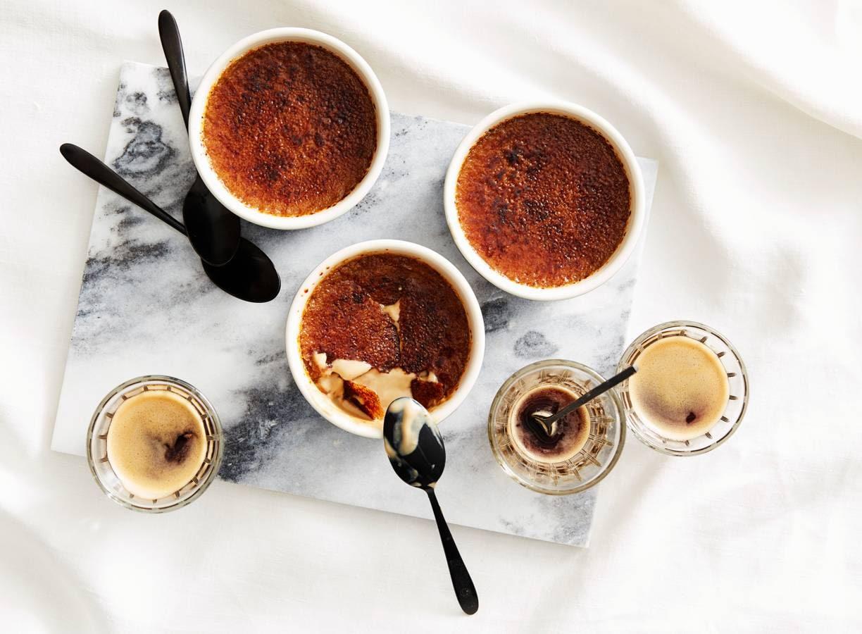 Koffie crème brûlée