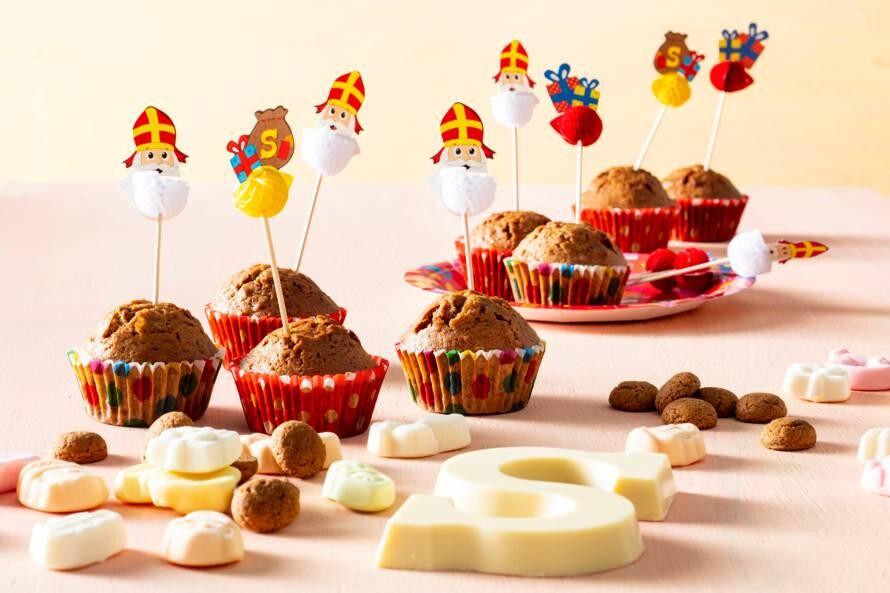 Muffin van kruidnoten
