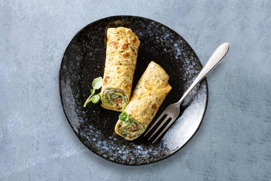 Omeletwraps - Recept - Allerhande - Albert Heijn