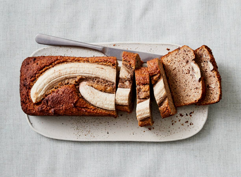 Bananenbrood zonder suiker (geen toegevoegde suikers)