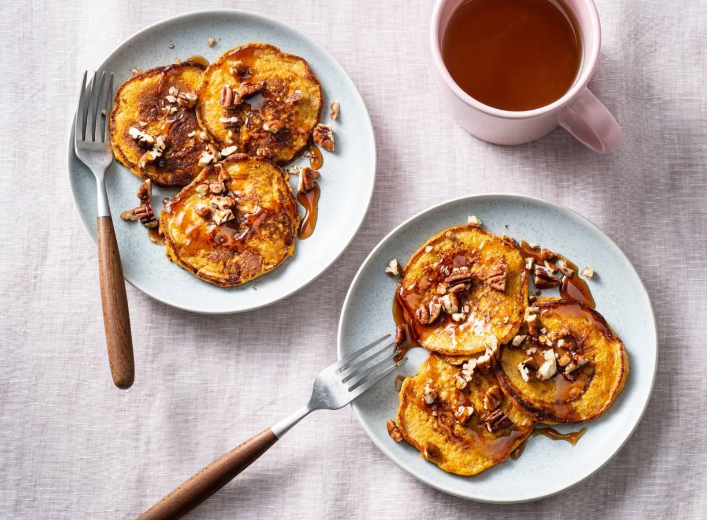Zoete-aardappelpannenkoeken