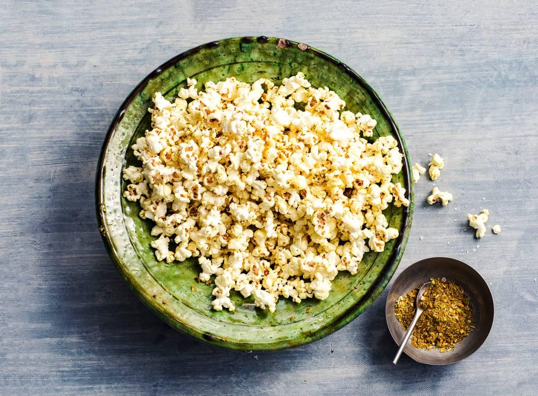 Hartige popcorn