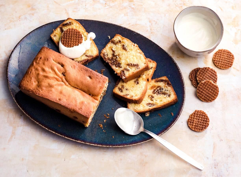 Stroopwafel-cake