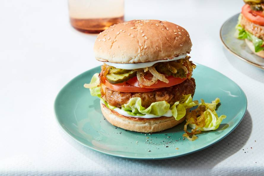 Jackfruitburgers