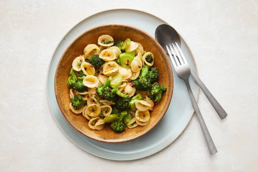 Orechiette met broccoli en ansjovis