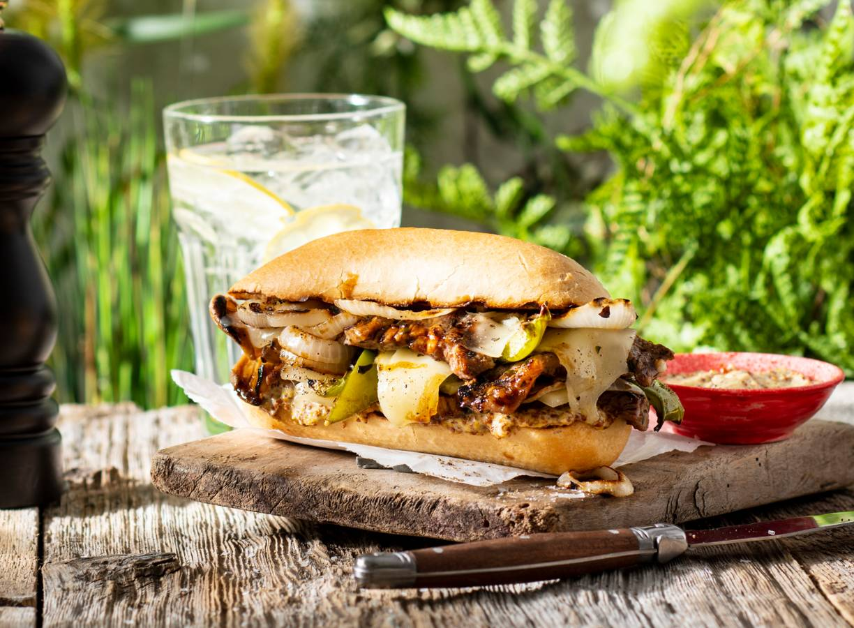 BBQ steak sandwich van Jord Althuizen