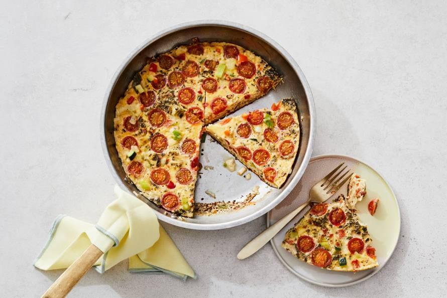 Italiaanse omelet met groente