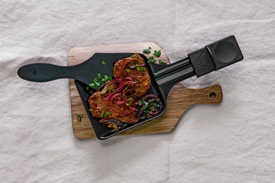 Biefstuk gourmetten