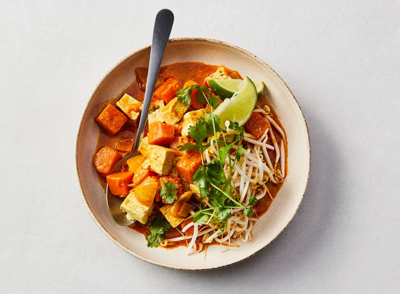 Pompoencurry met tofu
