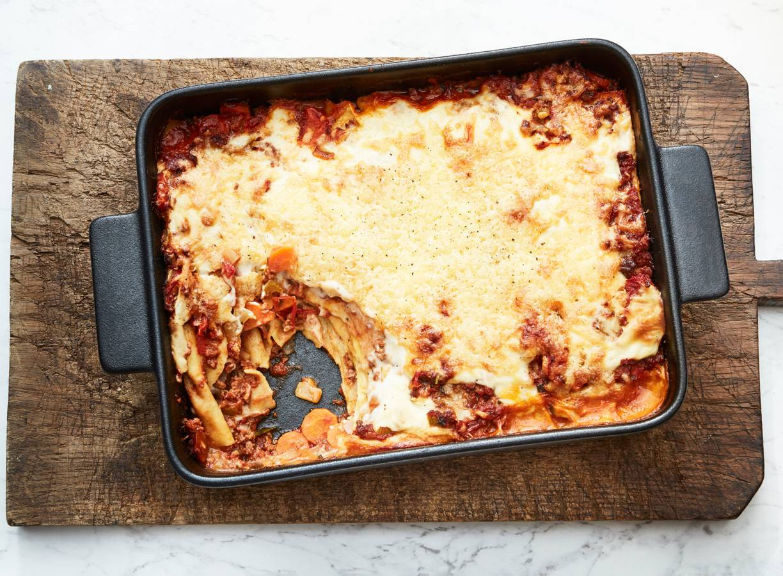 Vega lasagne bolognese