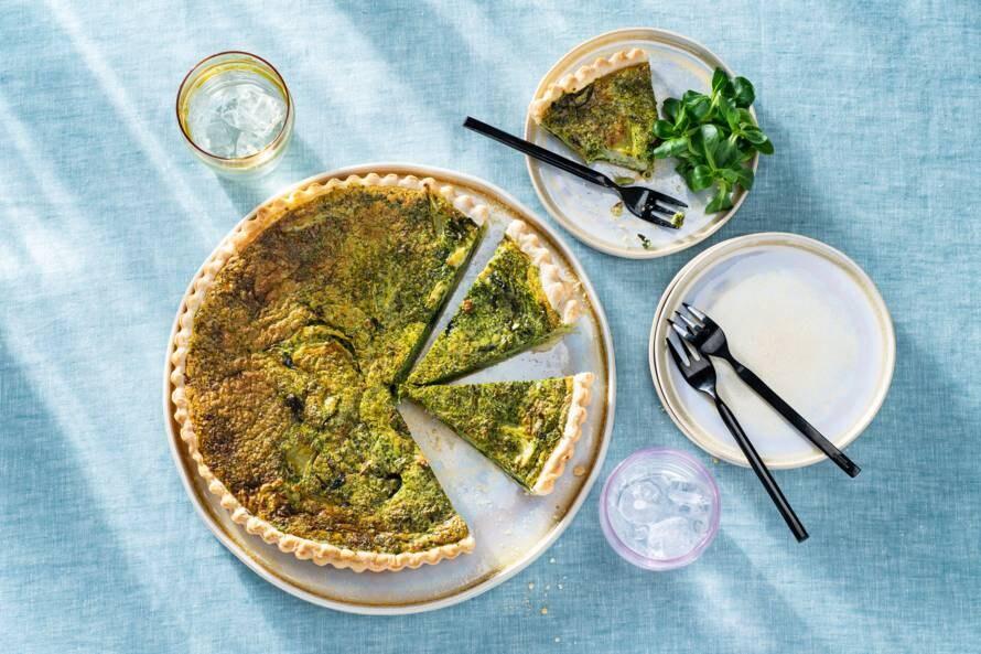Venkelquiche met spinazie en spek (advertorial)