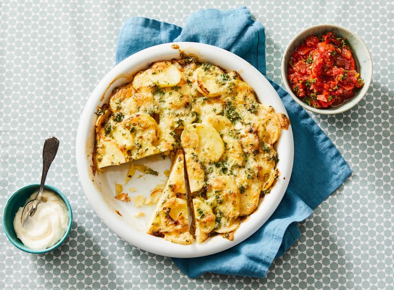 Aardappeltortilla met allioli en salsa (advertorial)