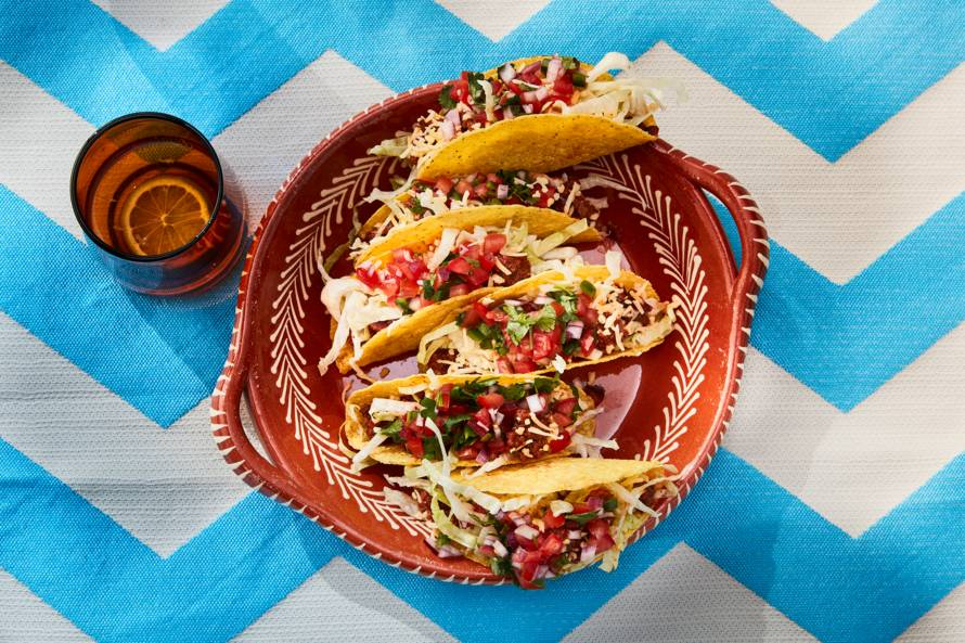 American style taco's