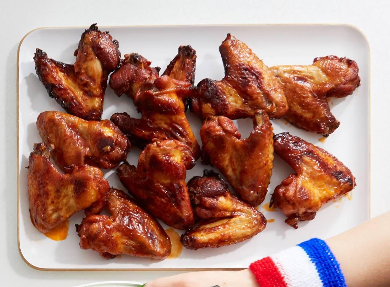 Sticky chickenwings met cola en five spice