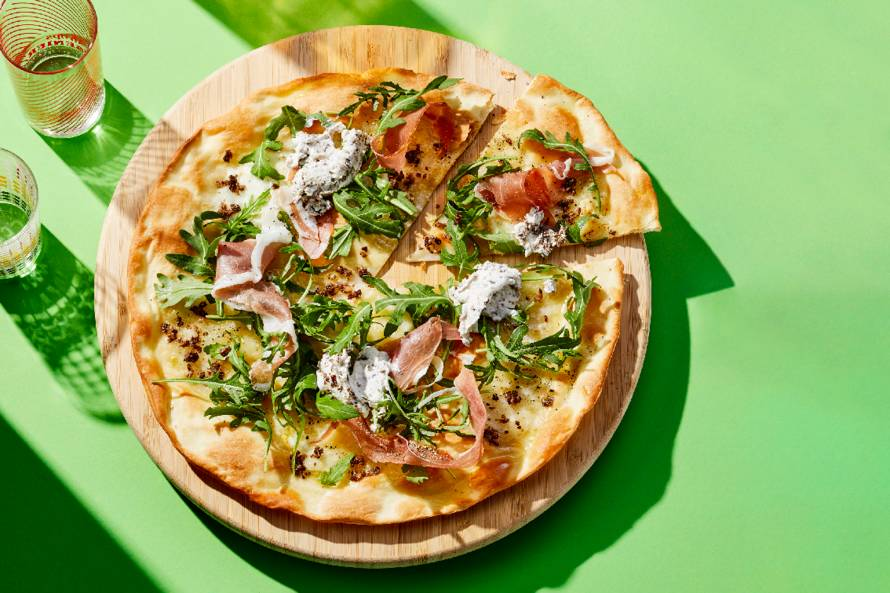 Pizza al tartufo