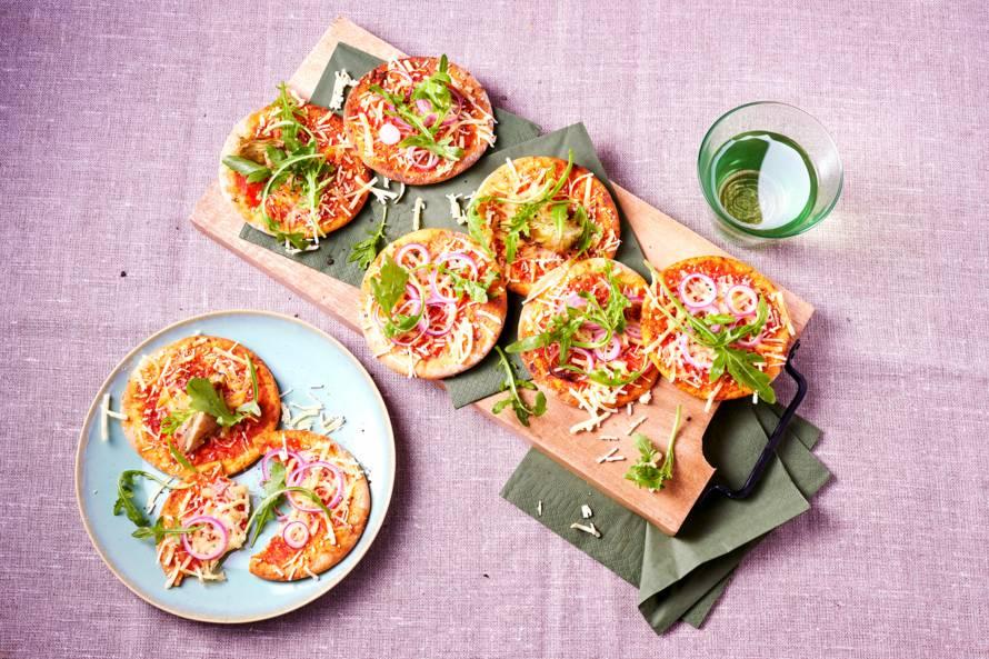 Vegan mini-pizza
