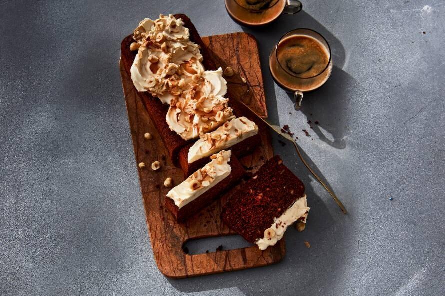 Koffie-chocoladecake met kardamom