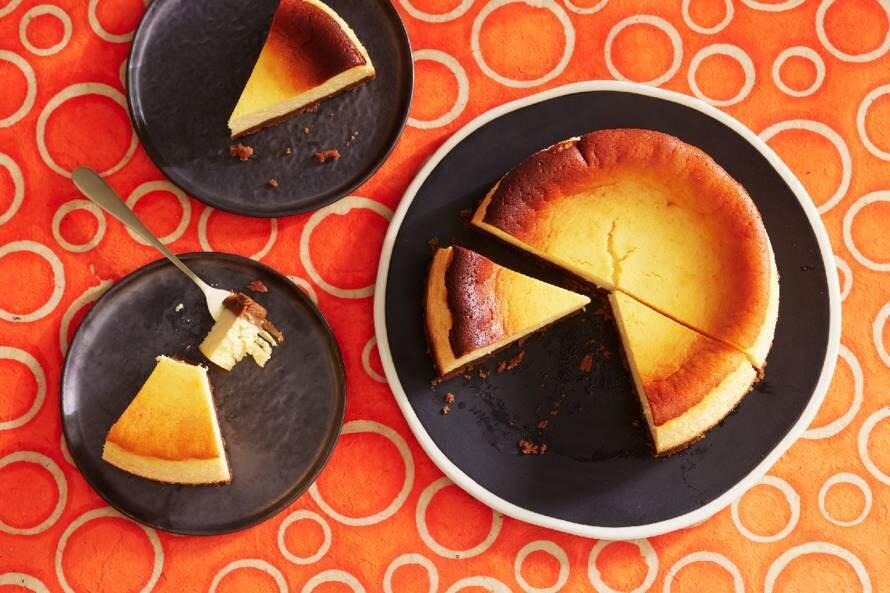 Pompoencheesecake met speculaas